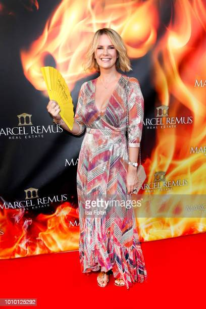 German actress Monica Ivancan attends the Remus Lifestyle Night on August 2 2018 in Palma de Mallorca Spain