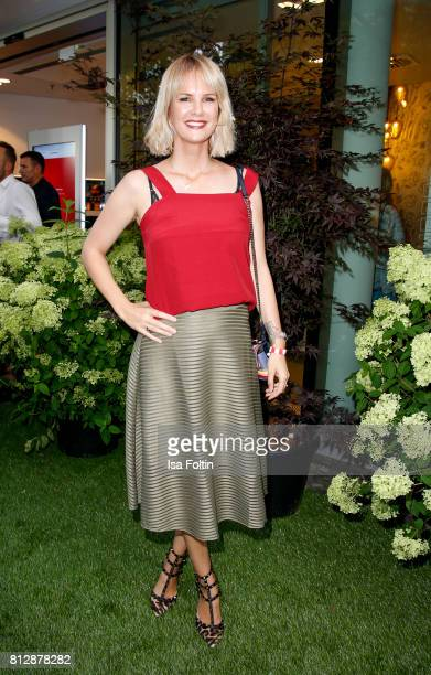 German actress Monica Ivancan during the 'True Berlin' Hosted By Shan Rahimkhan on July 11 2017 in Berlin Germany