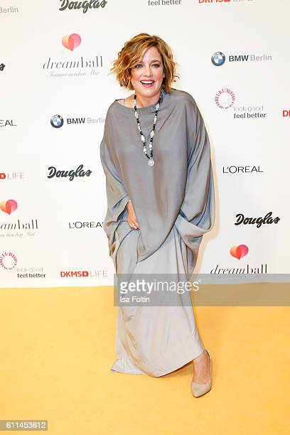 German actress Muriel Baumeister attends the Dreamball 2016 at Ritz Carlton on September 29, 2016 in Berlin, Germany.