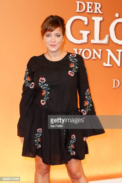 German actress Muriel Baumeister attends the premiere of the musical 'Der Gloeckner von Notre Dame' on April 9, 2017 in Berlin, Germany.