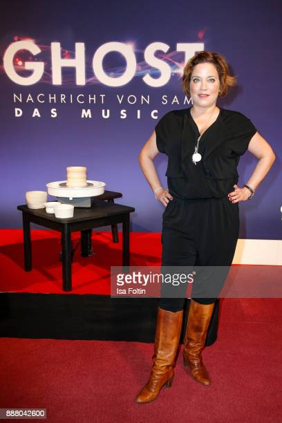 German actress Muriel Baumeister during the premiere of 'Ghost - Das Musical' at Stage Theater on December 7, 2017 in Berlin, Germany.