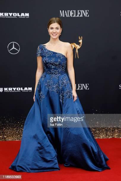 German actress Nadine Klein arrives for the 71st Bambi Awards at Festspielhaus Baden-Baden on November 16, 2019 in Baden-Baden, Germany.
