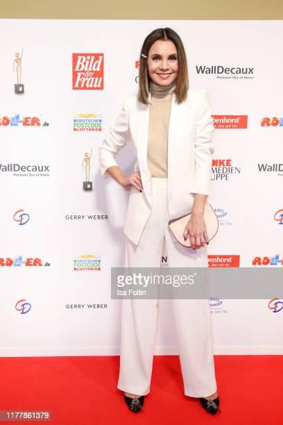German actress Nadine Warmuth attends the annual Goldene Bild der Frau award on October 23 2019 in Hamburg Germany