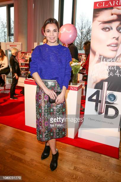 German actress Nadine Warmuth attends the InStyle Lounge Opening Brunch/Open House at Cafe Moskau on January 16 2019 in Berlin Germany