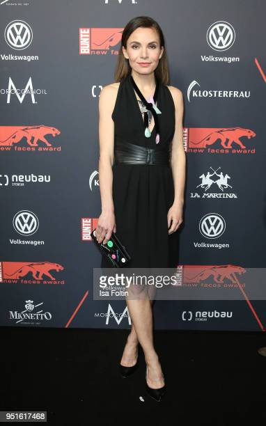 German actress Nadine Warmuth attends the New Faces Award Film at Spindler Klatt on April 26 2018 in Berlin Germany