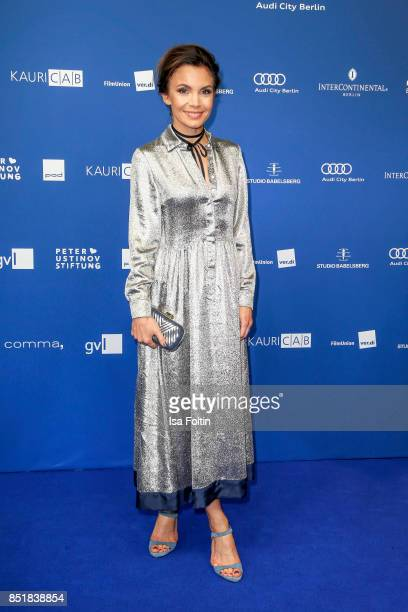 German actress Nadine Warmuth during the 6th German Actor Award Ceremony at Zoo Palast on September 22 2017 in Berlin Germany