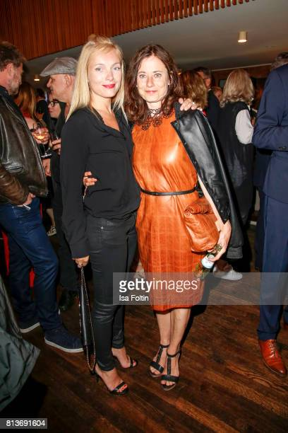 German actress Nadja Uhl and German actress Inka Friedrich during the summer party 2017 of the German Producers Alliance on July 12 2017 in Berlin...
