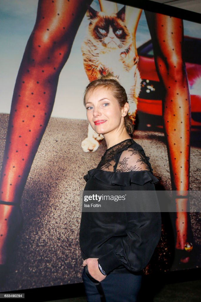 German actress Nadja Uhl attends the Presentation of the new Opel Calender 2017 at Kraftwerk Mitte on February 1, 2017 in Berlin, Germany.