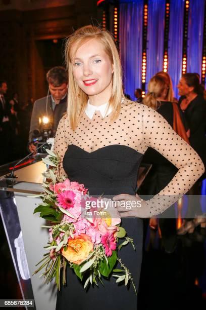 German actress Nadja Uhl during the Bayerischer Fernsehpreis 2017 at Prinzregententheater on May 19 2017 in Munich Germany