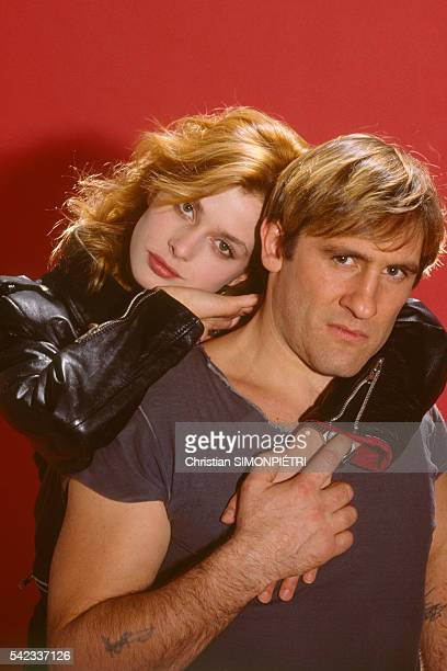 German actress Nastassja Kinski and French actor Gerard Depardieu for the film La Lune dans le Canniveau by French director and screenwriter...