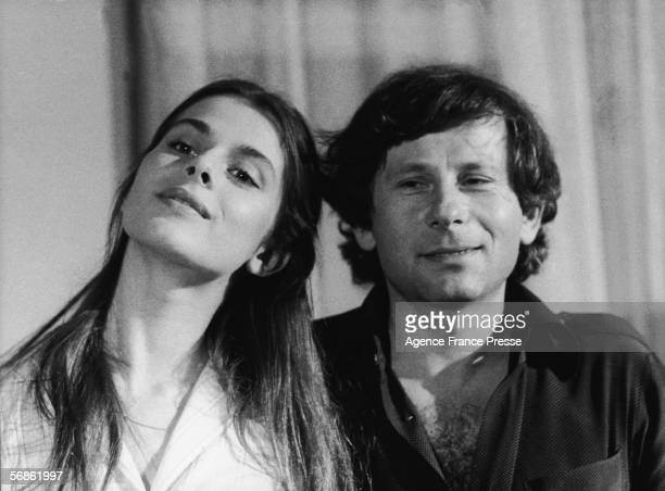 German actress Nastassja Kinski and Frenchborn FrancoPolish director Roman Polanski pose for a photograph after a press conference for his new film...