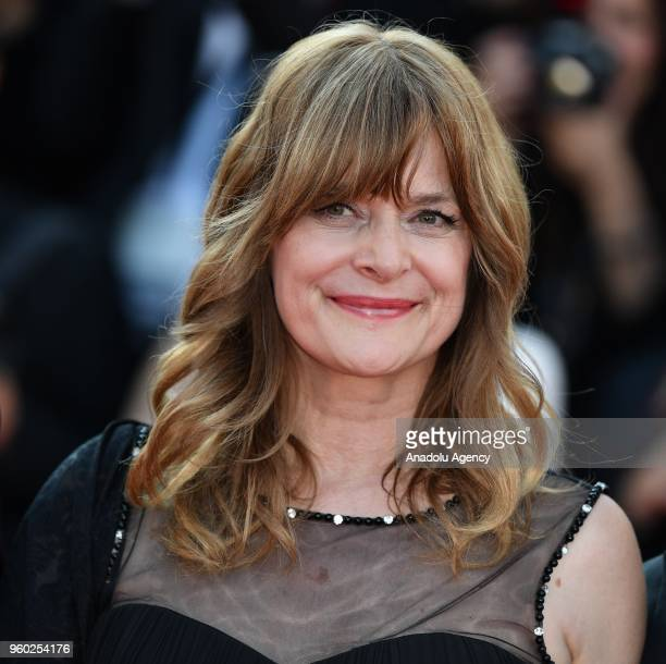 German actress Nastassja Kinski arrives for the screening of the film 'The Man who Killed Don Quixote' and Closing Awards Ceremony at the 71st Cannes...