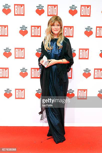 German actress Nastassja Kinski attends the Ein Herz Fuer Kinder gala on December 3 2016 in Berlin Germany