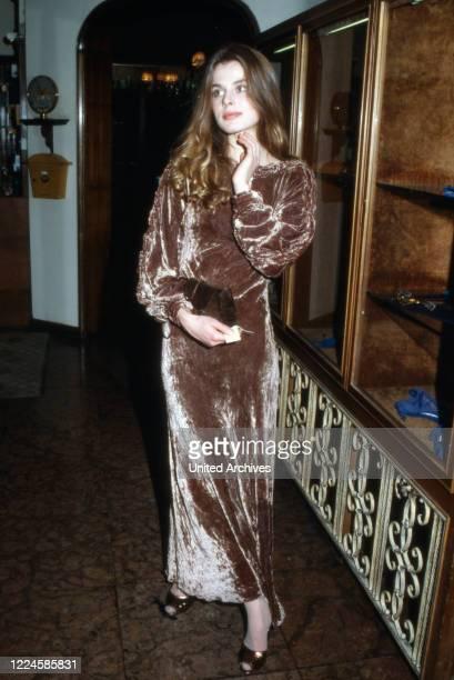 German actress Nastassja Kinski Germany 1980s