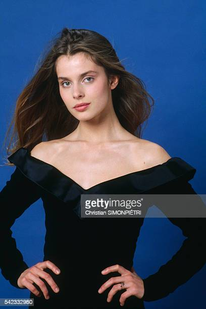 German Actress Nastassja Kinski In Paris