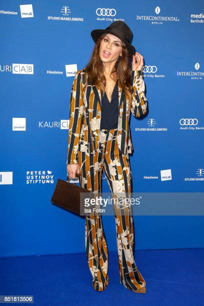 German actress Natalia Avelon during the 6th German Actor Award Ceremony at Zoo Palast on September 22 2017 in Berlin Germany