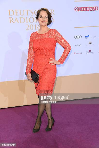 German actress Natalia Woerner attends the Deutscher Radiopreis 2016 on October 6 2016 in Hamburg Germany