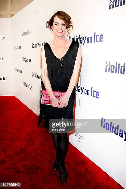 German actress Natalia Woerner attends the 'Holiday on Ice' gala at Hotel Atlantic on October 19 2016 in Hamburg Germany