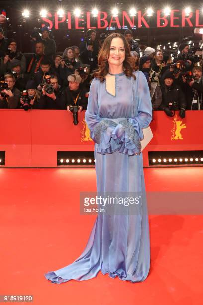 German actress Natalia Woerner attends the Opening Ceremony 'Isle of Dogs' premiere during the 68th Berlinale International Film Festival Berlin at...