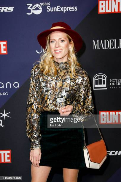 German actress Nele Kiper attends the Bunte New Faces Night at Hotel Oderberger on January 13 2020 in Berlin Germany