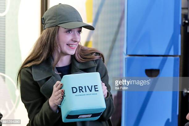 German actress Nellie Thalbach during the discussion panel of Clich'e Bashing 'soziale Netzwerke Real vs Digital' In Berlin at DRIVE Volkswagen Group...