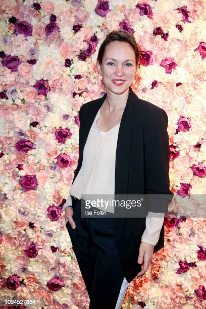 German actress Nike Fuhrmann attends the Blaue Blume Awards at Restaurant Grosz on February 6 2019 in Berlin Germany