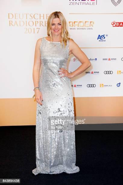 German actress Nina Bott attends the 'Deutscher Radiopreis' at Elbphilharmonie on September 7 2017 in Hamburg Germany