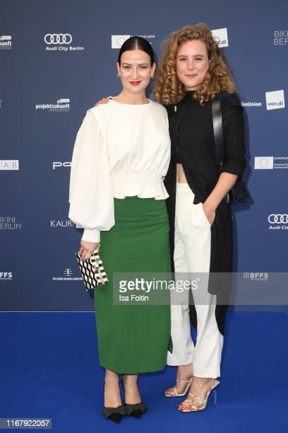 German actress Nina Gummich and German actress Klara Deutschmann at the award ceremony of the Deutscher Schauspielpreis at Zoo Palast on September 13...