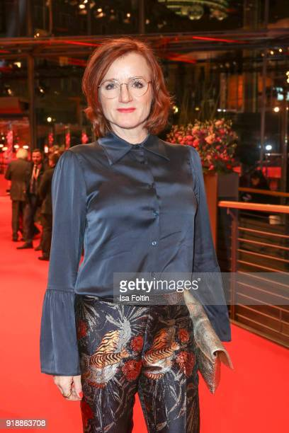 German actress Nina Petri attends the opening party of the 68th Berlinale International Film Festival Berlin at Berlinale Palace on February 15 2018...