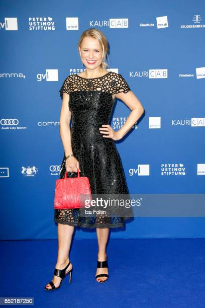 German actress Nova Meierhenrich during the 6th German Actor Award Ceremony at Zoo Palast on September 22 2017 in Berlin Germany