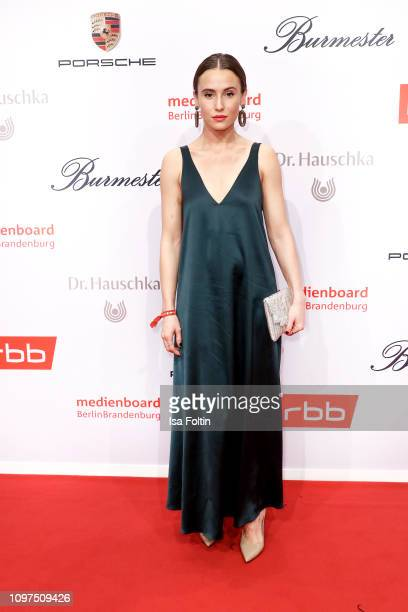 German actress Peri Baumeister attends the Medienboard BerlinBrandenburg Reception on the occasion of the 69th Berlinale International Film Festival...