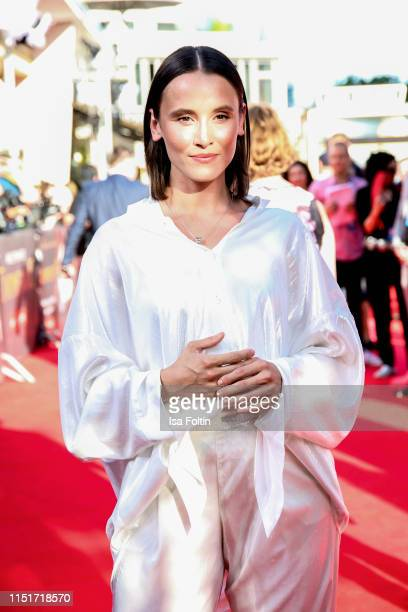 German actress Peri Baumeister attends the Traumfabrik Movie Premiere on June 24 2019 in Berlin Germany