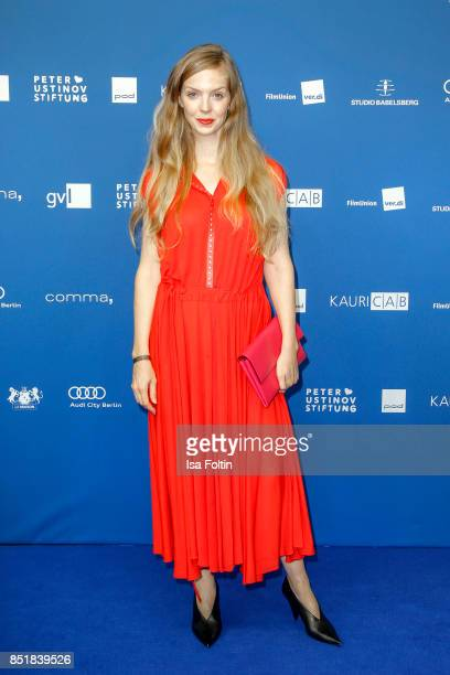 German actress Pheline Roggan during the 6th German Actor Award Ceremony at Zoo Palast on September 22, 2017 in Berlin, Germany.