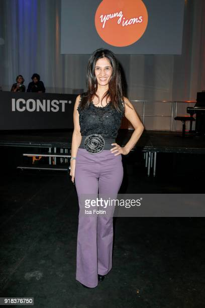 German actress Rabeah Rahimi attends the Young ICONs Award in cooperation with ICONIST at BRLO Brwhouse on February 14 2018 in Berlin Germany