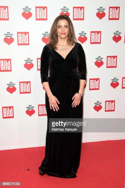 German actress Rebecca Immanuel the Ein Herz Fuer Kinder Gala at Studio Berlin Adlershof on December 9 2017 in Berlin Germany