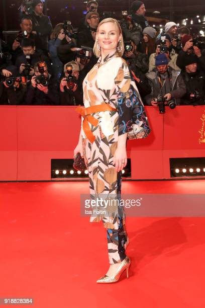 German actress Rosalie Thomass attends the Opening Ceremony 'Isle of Dogs' premiere during the 68th Berlinale International Film Festival Berlin at...