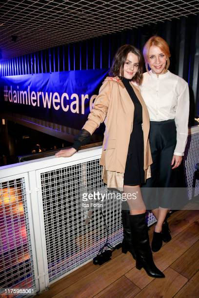 German actress Ruby O Fee and German actress Annika Ernst attend the Daimler event Be a Mover at BRLO on October 14 2019 in Berlin Germany
