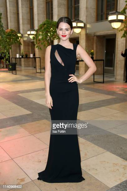 German actress Ruby O Fee attends the Lola German Film Award reception at Palais am Funkturm on May 3 2019 in Berlin Germany