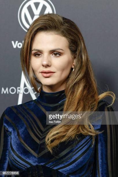 German actress Ruby O Fee attends the New Faces Award Film at Spindler Klatt on April 26 2018 in Berlin Germany