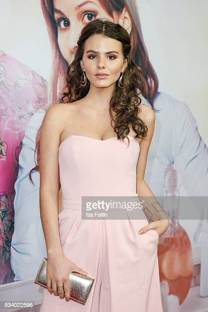 German actress Ruby O Fee attends the premiere of the film 'Seitenwechsel' at Zoo Palast on May 24 2016 in Berlin Germany