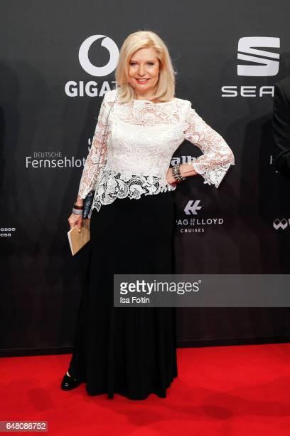 German actress Sabine Postel arrives for the Goldene Kamera on March 4 2017 in Hamburg Germany