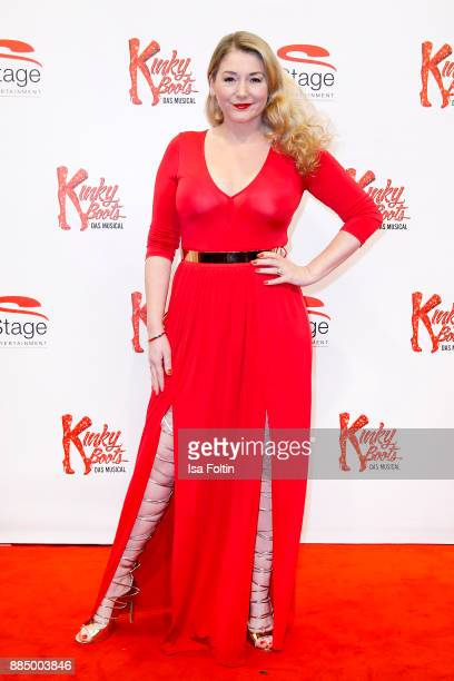 German actress Sandra Quadflieg attends the 'Kinky Boots' Musical Premiere at Stage Operettenhaus on December 3 2017 in Hamburg Germany