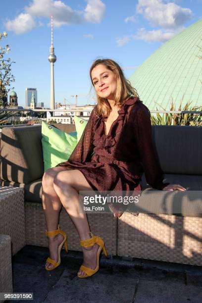 German actress Sarah Alles during the Ladies Dinner at Hotel De Rome on July 1 2018 in Berlin Germany