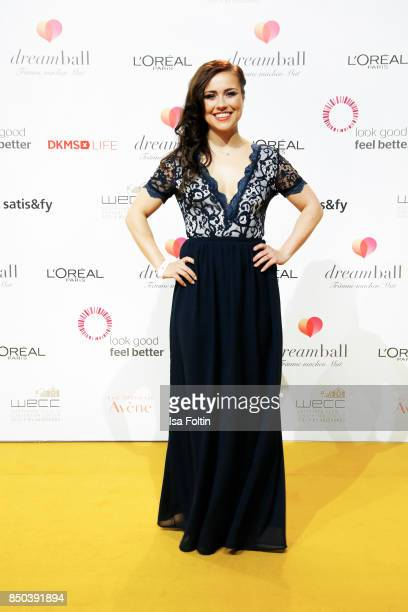 German actress Sarah Tkotsch attends the Dreamball 2017 at Westhafen Event Convention Center on September 20 2017 in Berlin Germany
