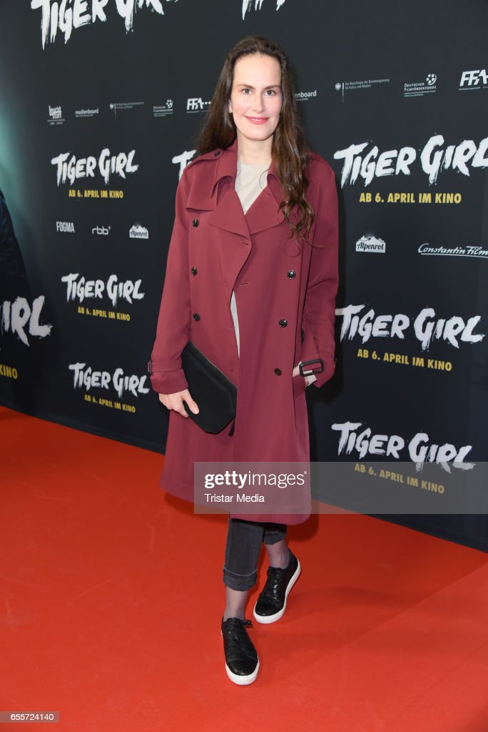 German actress Saralisa Volm attends the premiere of the film 'Tiger Girl' at Zoo Palast on March 20, 2017 in Berlin, Germany.