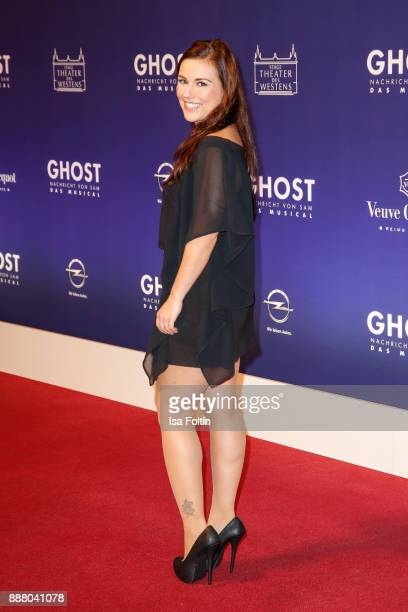 German actress Sarh Tkotsch during the premiere of 'Ghost Das Musical' at Stage Theater on December 7 2017 in Berlin Germany