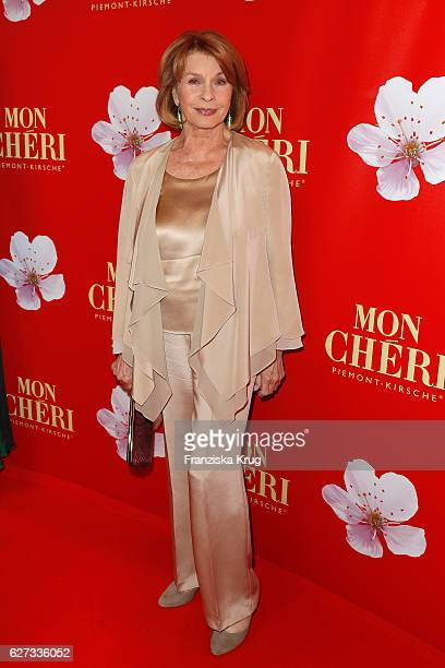 German actress Senta Berger attends the Mon Cheri Barbara Tag at Postpalast on December 2 2016 in Munich Germany