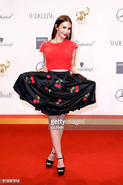 German actress Sila Sahin attends the Tribute To Bambi at Station on October 6 2016 in Berlin Germany