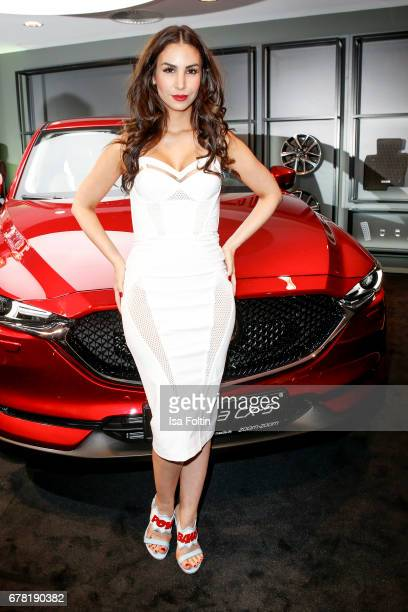 German actress Sila Sahin during the spring cocktail hosted by Mazda and InTouch magazine at Mazda Lounge on May 3 2017 in Berlin Germany