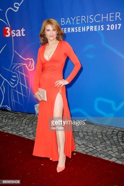 German actress Silke Popp attends the Bayerischer Fernsehpreis 2017 at Prinzregententheater on May 19 2017 in Munich Germany